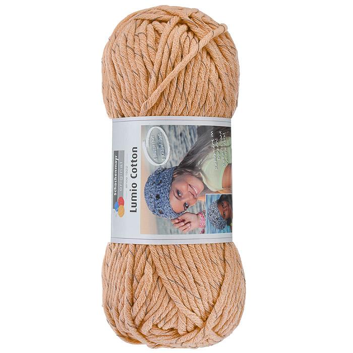 Пряжа для вязания Schachenmayr Lumio Cotton, цвет: абрикосовый (00022), 90 м, 150 г9807779-22