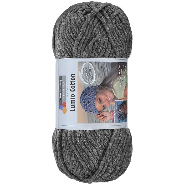 Пряжа для вязания Schachenmayr Lumio Cotton, цвет: темно-серый (00098), 90 м, 150 г9807779-98