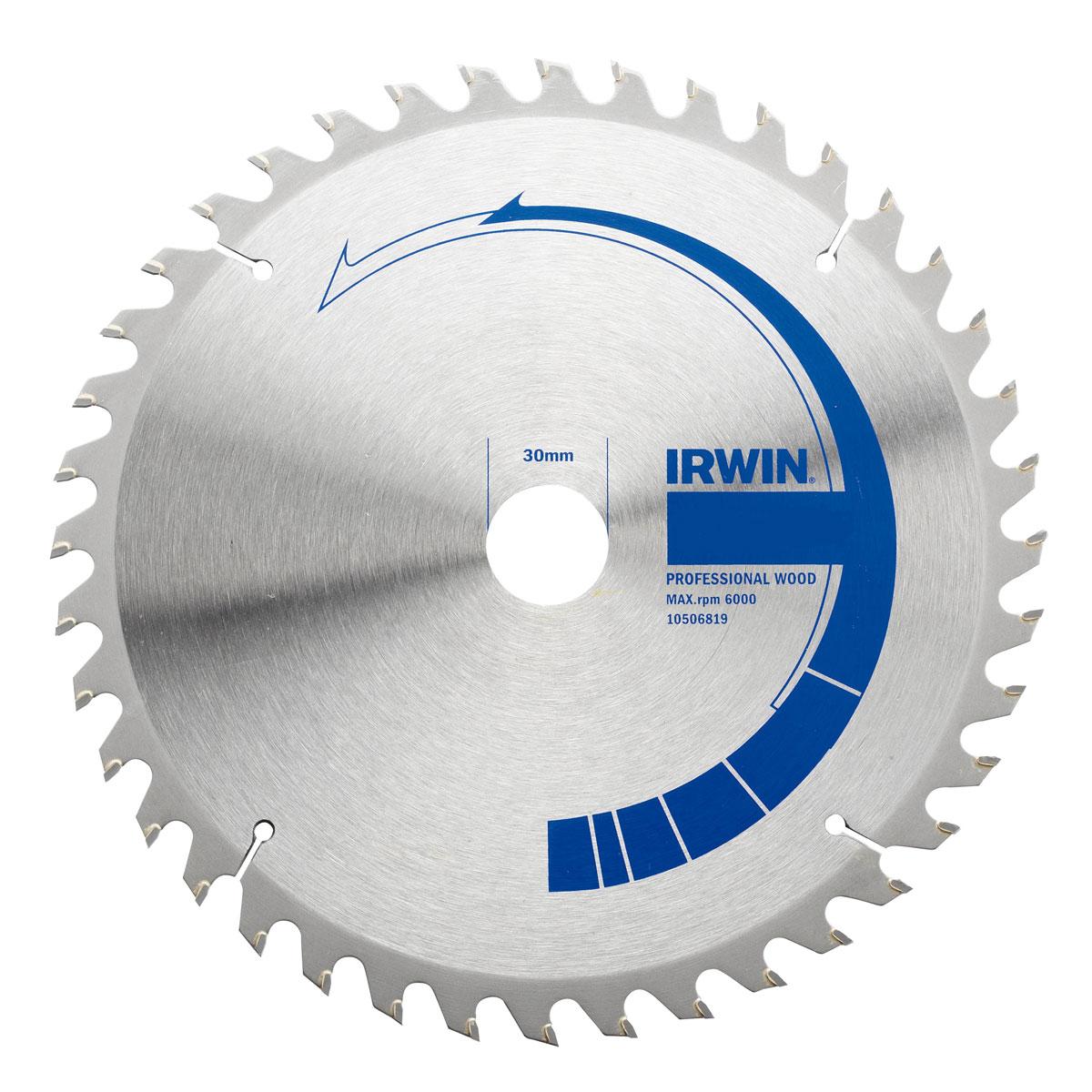 """Пильный диск по дереву Irwin """"Professional Wood"""", 190 мм"""