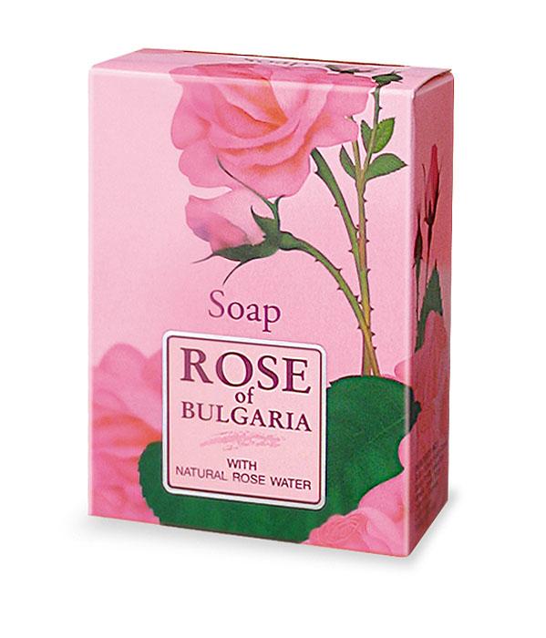 Rose of Bulgaria Мыло с частичками лепестков роз, 100 г
