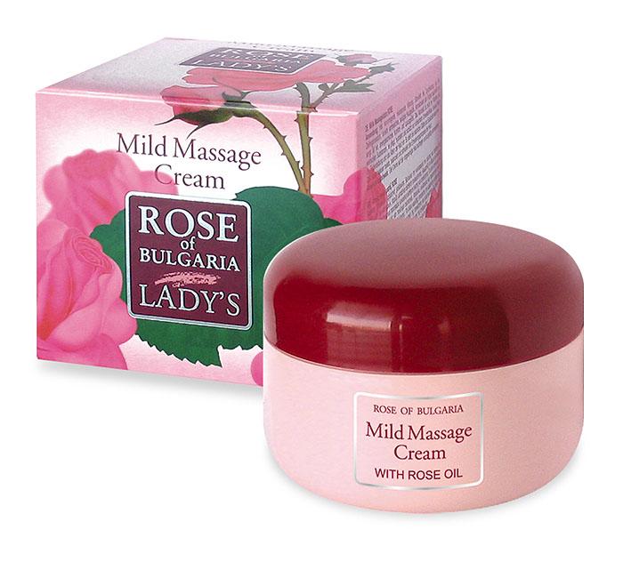 Rose of Bulgaria Крем для тела, массажный, смягчающий, 330 мл