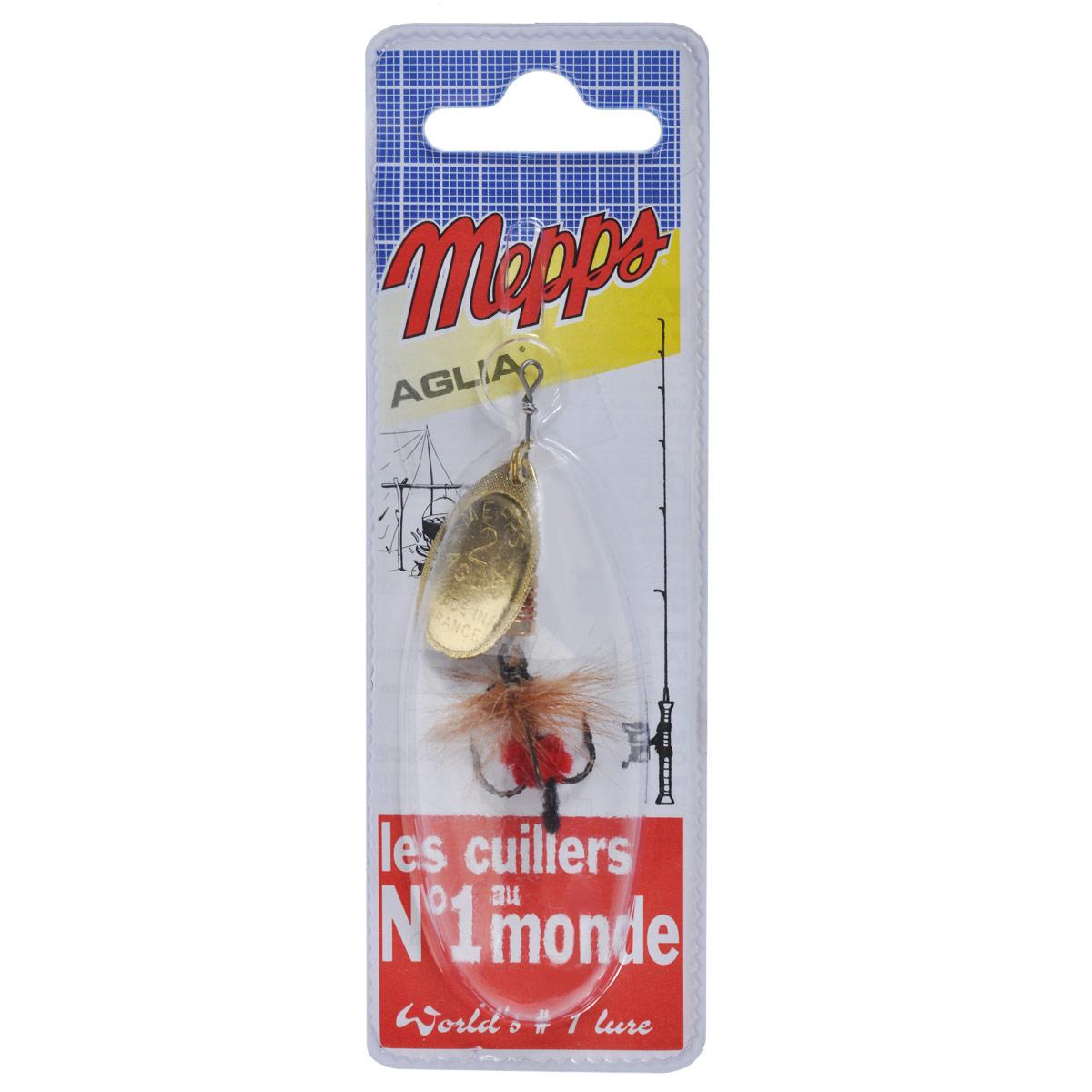 Блесна Mepps Aglia OR Mouch. Rouge, вращающаяся, №25742Вращающаяся блесна Mepps Aglia OR Mouch. Rouge оснащена мушкой из натурального беличьего хвоста, это очень эффективные приманки для ловли жереха, голавля, язя, окуня и других видов рыб, особенно в периоды массового вылета насекомых. Aglia Mouche - некрупная блесна, которая особенно подходит для летней ловли рыбы (особенно осторожной) на мелководье.