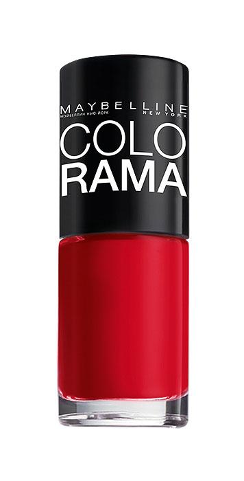 Maybelline New York Лак для ногтей Colorama, оттенок 150, Королевский пурпур, 7 млB2073103Самая широкая палитра оттенков новых лаков Колорама. Яркие модные цвета с подиума. Новая формула лака Колорама обеспечивает стойкое покрытие и создает еще более дерзкий, насыщенный цвет, который не тускнеет. Усовершенствованная кисточка для более удобного и ровного нанесения, современная упаковка. Лак для ногтей Колорама не содержит формальдегида, дибутилфталата и толуола.