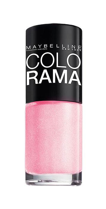 Maybelline New York Лак для ногтей Colorama, оттенок 69, Розовое сияние, 7 млB2070503Самая широкая палитра оттенков новых лаков Колорама. Яркие модные цвета с подиума. Новая формула лака Колорама обеспечивает стойкое покрытие и создает еще более дерзкий, насыщенный цвет, который не тускнеет. Усовершенствованная кисточка для более удобного и ровного нанесения, современная упаковка. Лак для ногтей Колорама не содержит формальдегида, дибутилфталата и толуола.