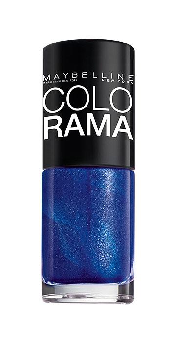 Maybelline New York Лак для ногтей Colorama, оттенок 80, Синяя птица, 7 млB2071103Самая широкая палитра оттенков новых лаков Колорама. Яркие модные цвета с подиума. Новая формула лака Колорама обеспечивает стойкое покрытие и создает еще более дерзкий, насыщенный цвет, который не тускнеет. Усовершенствованная кисточка для более удобного и ровного нанесения, современная упаковка. Лак для ногтей Колорама не содержит формальдегида, дибутилфталата и толуола.