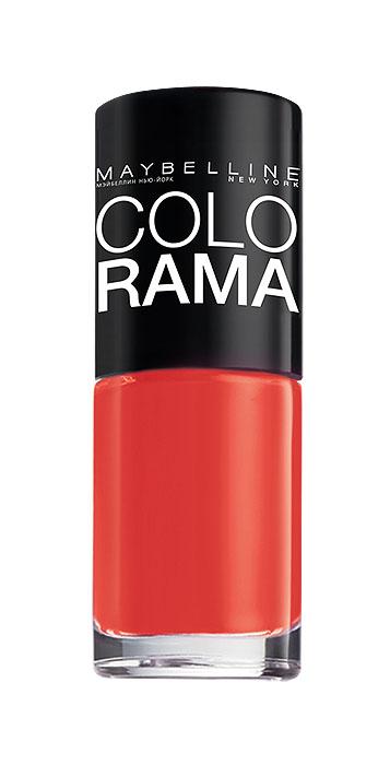 Maybelline New York Лак для ногтей Colorama, оттенок 352, Закат в Марокко, 7 млB2200703Самая широкая палитра оттенков новых лаков Колорама. Яркие модные цвета с подиума. Новая формула лака Колорама обеспечивает стойкое покрытие и создает еще более дерзкий, насыщенный цвет, который не тускнеет. Усовершенствованная кисточка для более удобного и ровного нанесения, современная упаковка. Лак для ногтей Колорама не содержит формальдегида, дибутилфталата и толуола.