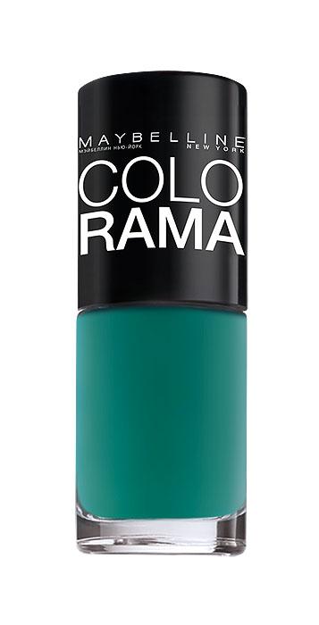 Maybelline New York Лак для ногтей Colorama, оттенок 217, Летняя зелень, 7 млB2284303Самая широкая палитра оттенков новых лаков Колорама. Яркие модные цвета с подиума. Новая формула лака Колорама обеспечивает стойкое покрытие и создает еще более дерзкий, насыщенный цвет, который не тускнеет. Усовершенствованная кисточка для более удобного и ровного нанесения, современная упаковка. Лак для ногтей Колорама не содержит формальдегида, дибутилфталата и толуола.