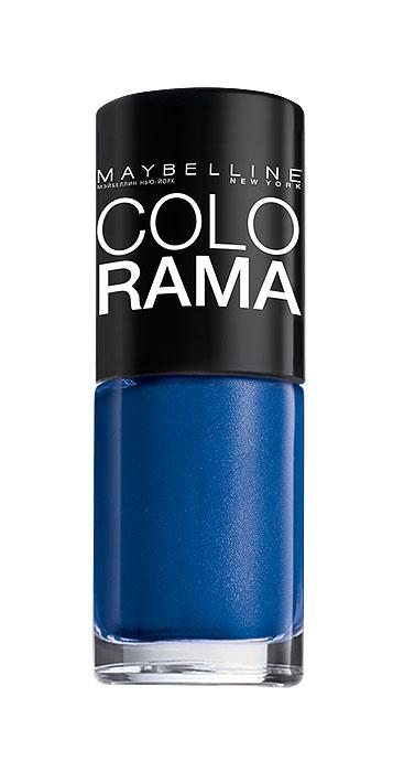 Maybelline New York Лак для ногтей Colorama, оттенок 282, Марокканский синий, 7 млB2339003Самая широкая палитра оттенков новых лаков Колорама. Яркие модные цвета с подиума. Новая формула лака Колорама обеспечивает стойкое покрытие и создает еще более дерзкий, насыщенный цвет, который не тускнеет. Усовершенствованная кисточка для более удобного и ровного нанесения, современная упаковка. Лак для ногтей Колорама не содержит формальдегида, дибутилфталата и толуола.