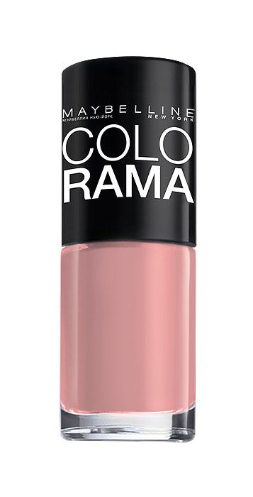 Maybelline New York Лак для ногтей Colorama, оттенок 301, Розовый бриллиант, 7 млB2340303Самая широкая палитра оттенков новых лаков Колорама. Яркие модные цвета с подиума. Новая формула лака Колорама обеспечивает стойкое покрытие и создает еще более дерзкий, насыщенный цвет, который не тускнеет. Усовершенствованная кисточка для более удобного и ровного нанесения, современная упаковка. Лак для ногтей Колорама не содержит формальдегида, дибутилфталата и толуола.