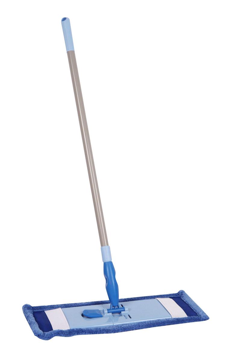 Швабра Hausmann для уборки деликатных поверхностей, с телескопической ручкой, 75-130 смADF1513-1Удобная швабра Hausmann, изготовленная из алюминия и пластика, подходит для уборки деликатных поверхностей. Телескопическая ручка обеспечит компактное хранение. Съемная насадка из микрофибры эффективно удаляет загрязнения. Шарнирный механизм с поворотом на 360° позволяет вымыть пол в труднодоступных местах. Насадку можно стирать в стиральной машине при температуре 40°С. Оригинальная, современная, удобная швабра Hausmann сделает уборку эффективнее и приятнее. Размер моющей поверхности: 46 см х 17 см. Длина ручки: 75-130 см.