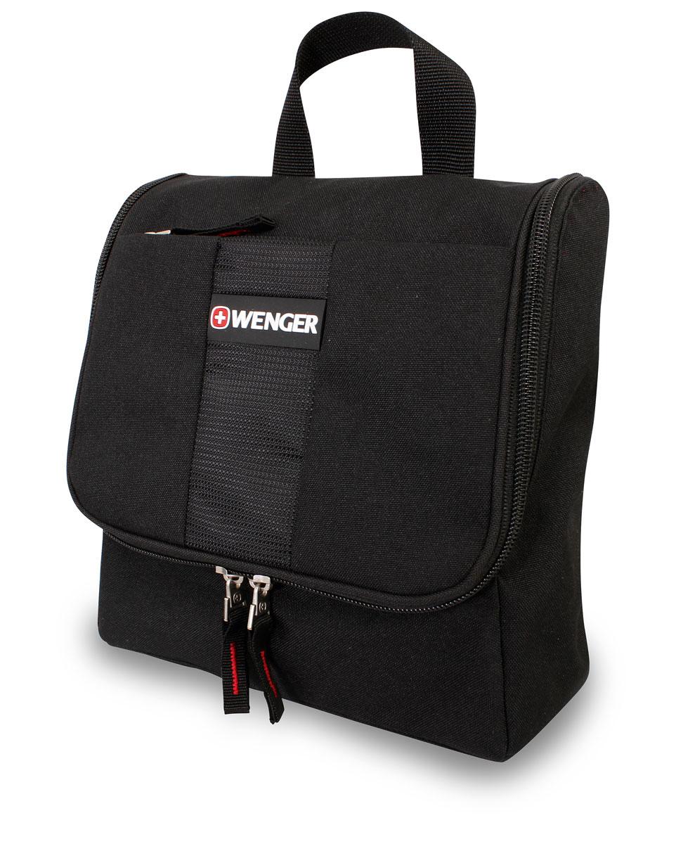 Дорожная сумка Wenger, цвет: черный, 4 л. 608510