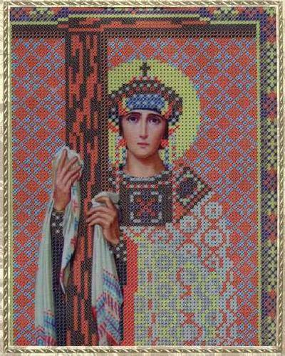 Набор для вышивания бисером Святая Равноапостольная Елена, 18 х 25 см354069
