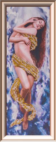 Набор для вышивания бисером Gluriya Воздух, 16 х 42 см385034