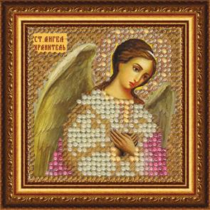 Набор для вышивания бисером Святой Ангел Хранитель, 6,5 см х 6,5 см684783В набор входит: - ткань с нанесенным рисунком-схемой; - бисер (Чехия); - бисерная игла; - цветная схема; - текст молитвы; - инструкция; - акриловая рамка с подставкой, подвесом; - магнит; - клеевая лента.