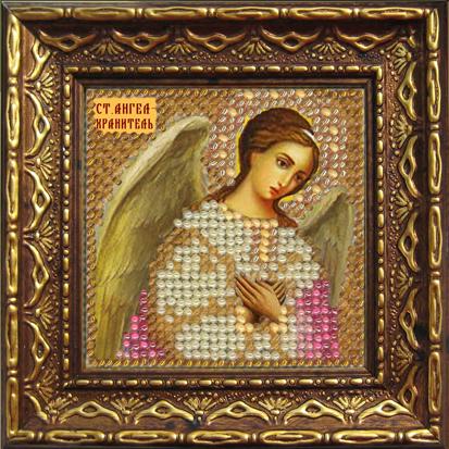 Набор для вышивания бисером Ангел-Хранитель, 6,5 см х 6,5 см684794Набор для вышивания бисером Ангел-Хранитель поможет создать красивую вышитую икону. Рисунок-вышивка бисером, выполненный на канве, выглядит красиво, стильно и модно. Вышивание отвлечет вас от повседневных забот и превратится в увлекательное занятие! Работа, сделанная своими руками, не только украсит интерьер дома, придав ему уют и оригинальность, но и будет отличным подарком для друзей и близких! Набор для вышивания содержит все необходимые материалы для частичной вышивки на ткани в технике полукрест. Лики не вышиваются. В состав набора входит: - хлопково-льняная ткань с нанесенным рисунком-схемой, - чешский бисер (9 цветов), - бисерная игла, - рекомендации по вышиванию, - текст молитвы, - багетная рамка, - задник с клеевым 2-х сторонним скотчем, - инструкция на русском языке. Размер вышивки: 6,5 см х 6,5 см. Размер вышивки (в багете): 10,5 см х 10,5 см.