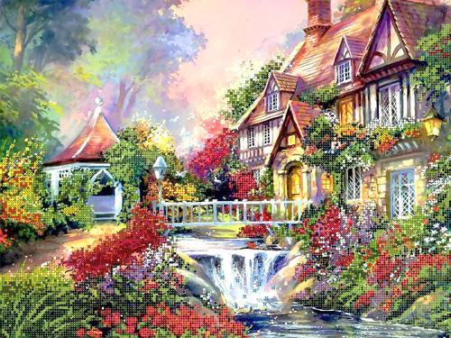 Набор для вышивания бисером Gluriya Деревенская мечта, 40 х 30 см7705640Набор для вышивания бисером Gluriya Деревенская мечта поможет создать красивую вышитую картинку. Рисунок-вышивка бисером, выполненный на канве, выглядит красиво, стильно и модно. Вышивание отвлечет вас от повседневных забот и превратится в увлекательное занятие! Работа, сделанная своими руками, не только украсит интерьер дома, придав ему уют и оригинальность, но и будет отличным подарком для друзей и близких! Набор для вышивания содержит все необходимые материалы для частичной вышивки на канве в технике полукрест. В состав набора входит: - хлопковая ткань с нанесенным рисунком-схемой, - чешский бисер Preciosa (12 цветов), - бисерная игла, - цветная схема, - инструкция на русском языке. Уважаемые клиенты! Обращаем ваше внимание на то, что рамка в комплект не входит.