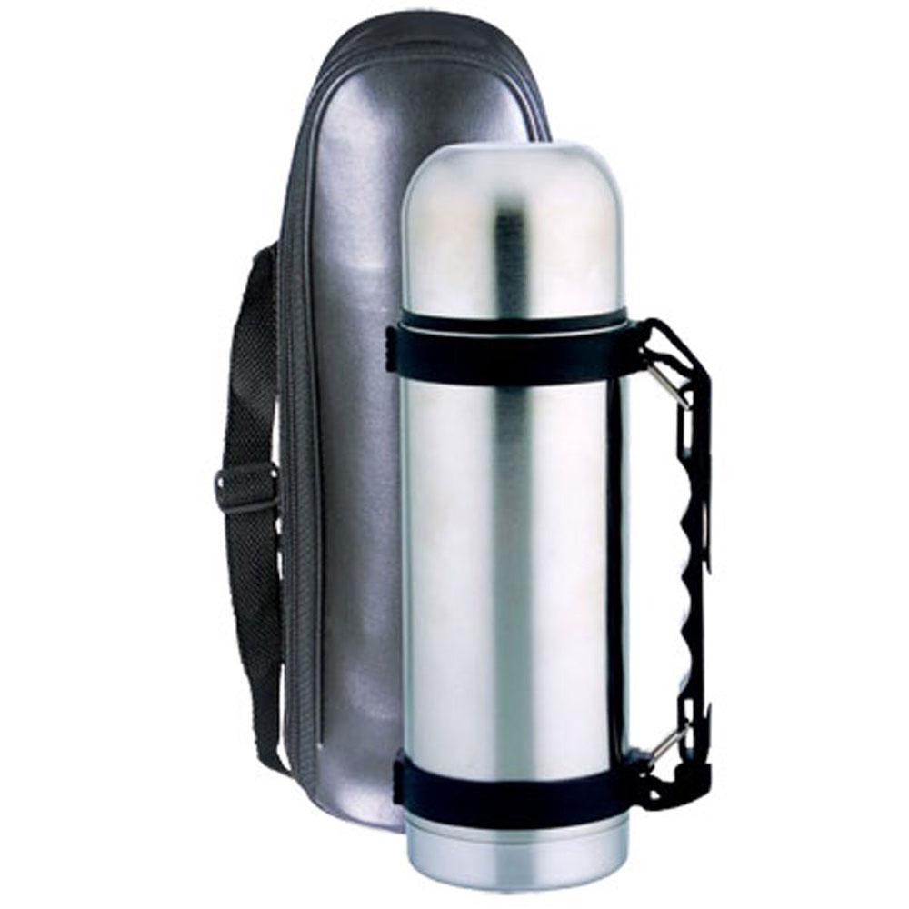 Bohmann термос, 4160, Бохманнузк.горло, 0,60л B4160BHТермос с узким горлом из нержавеющей стали. Небьющийся. Кнопочный предохранительный клапан. Ремень. Чехол. Объем: 0,6л. нержавеющая сталь
