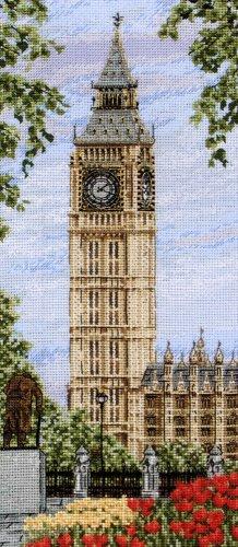 Набор для вышивания крестом Anchor Westminster Clock, 32 см х 14 см. PCE0803345176Набор для вышивания крестом Anchor Westminster Clock поможет вам создать свой личный шедевр - красивую картину, вышитую нитками мулине в технике счетный крест. Работа, выполненная своими руками, станет отличным подарком для друзей и близких! Набор содержит: - канва Аида 16 (цвет - голубой), - нитки мулине в органайзере (100% хлопок) - 30 цветов, - 1 игла, - черно-белая символьная схема, - инструкция на русском языке. Размер готовой работы: 32 см х 14 см.