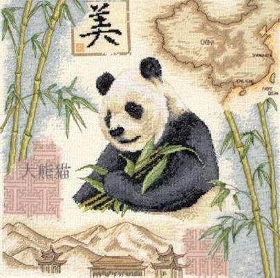 Набор для вышивания крестом Anchor Panda, 36 х 36 см PCE871655227В наборе для вышивания Anchor Panda есть все необходимое для создания собственного чуда: канва, нитки мулине, игла, схема рисунка, инструкция. Сколько положительных эмоций несет с собой вышивка, сделанная своими руками! Собственноручно выполненная работа - это эксклюзивная вещь, похожую которую вы нигде не найдете! В набор входят: - канва Aida 14 (кремовая) (100% хлопок), - нитки Anchor 26 цветов (100% хлопок), - игла, - черно-белая схема, - инструкция (универсальная).