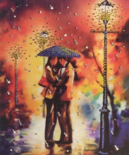 Набор для изготовления картины со стразами Дождь на двоих, 20,5 х 24 см695822Набор для изготовления картины со стразами Дождь на двоих - это вид хобби, который берет свое начало на Востоке. Это, своего рода мозаика из страз. Собрав ее, вы получите удивительную картину, которая будет обладать фактурой и отличаться красочностью цветов и оттенков. В набор входит: - инструкция, - стекло полистирол с изображением, - стразы Preciosa, - клей для страз, - восковый карандаш, - рамка. Картина со стразами, изготовленная своими руками, создаст в вашем доме уют и тепло. Вы получите истинное удовольствие от погружения в процесс творчества и сможете стать настоящим художником и создателем прекрасных картин. Техника изготовления картин со стразами прекрасно развивает художественный вкус, аккуратность и внимание. Размер готовой картины: 20,5 см х 24 см.