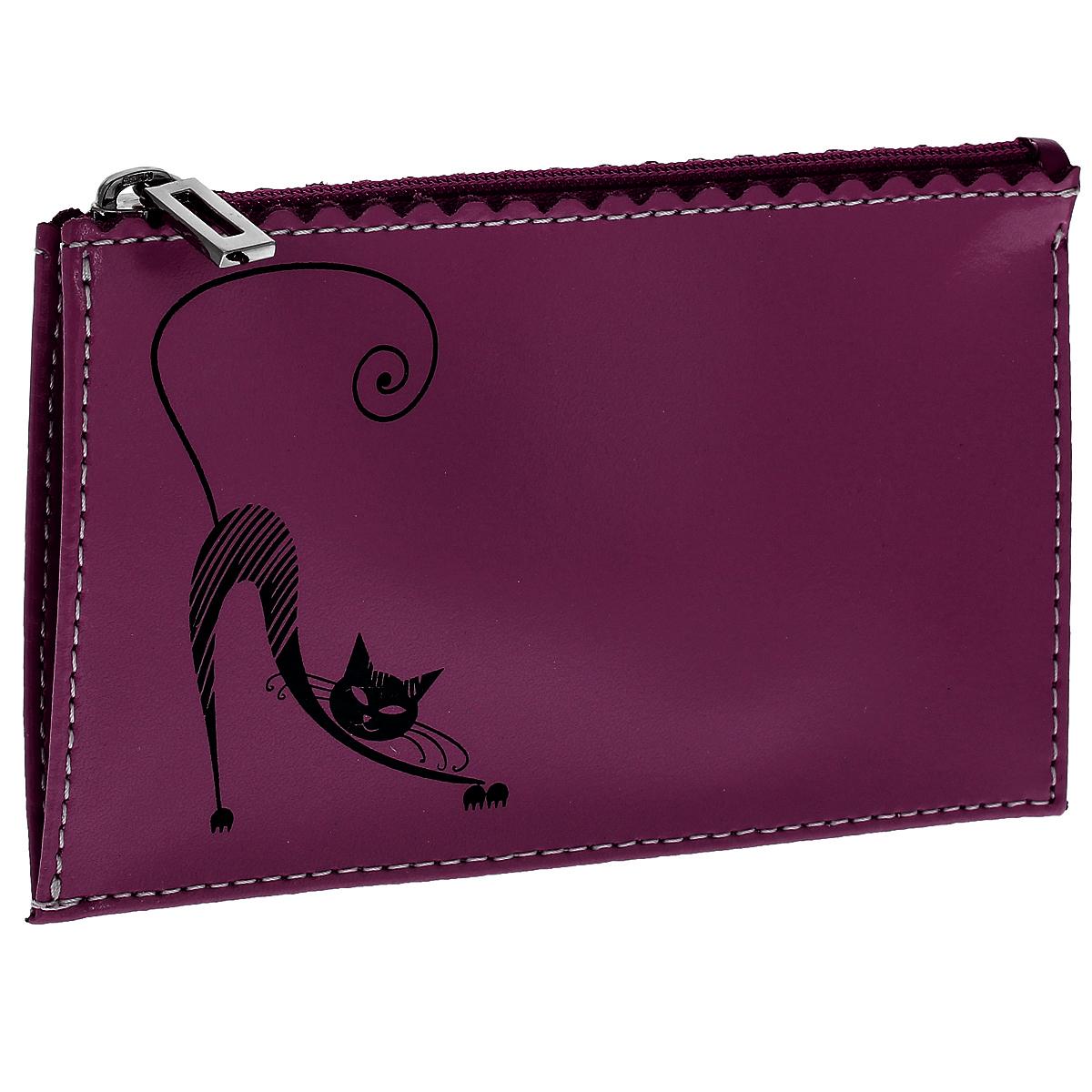 Ключница Befler Изящная кошка, цвет: фиолетовый. KL.24.-1KL.24.-1.violet