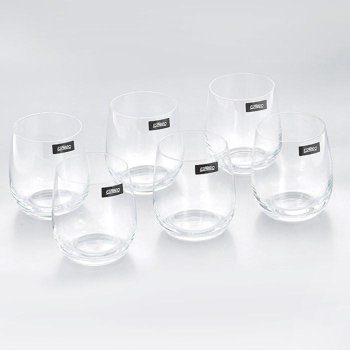 Набор стаканов Esprado Familia, 360 мл, 6 штFM81C36E351Набор Esprado Familia состоит из шести низких стаканов. Стаканы изготовлены из хрустального стекла или хрусталина, которое является более экологичной альтернативой знаменитому хрусталю, содержащему опасный для здоровья свинец. Хрустальное стекло имеет яркий блеск хрусталя, отличается высокой прозрачностью и тонкостью и при этом оно абсолютно безопасно и не содержит никаких вредных для человека веществ. Стаканы отличаются особой легкостью и прочностью, излучают приятный блеск и издают мелодичный хрустальный звон. Края стаканов имеют закаленный обод. Стаканы Esprado Familia станут идеальным украшением праздничного стола и отличным подарком к любому празднику. Стаканы можно мыть в посудомоечной машине в щадящем режиме. Будь то обычный семейный ужин, торжество или романтический вечер вдвоем, элегантная коллекция Familia всегда будет к месту: подчеркнет важность момента и атмосферу домашнего уюта. Бокалы в стиле современная классика - с чуть вытянутым дном и...