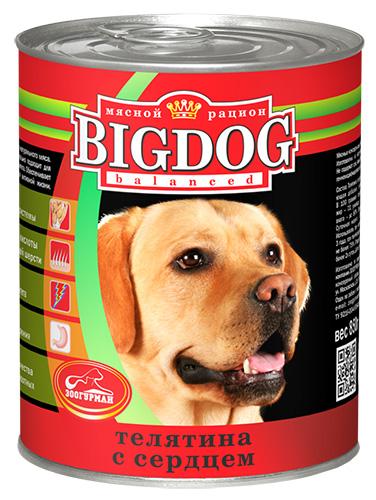 Консервы для собак Зоогурман Big Dog, с телятиной и сердцем, 850 г0256Консервы для собак Зоогурман Big Dog изготовлены из натурального российского мясного сырья. Не содержат сои, искусственных красителей, ароматизаторов, генномодифицированных ингредиентов. Состав серии оптимально сбалансирован, идеально подходит для ежедневного кормления и поддержания иммунитета. Обеспечивает питомца необходимым запасом энергии для активной жизни. - Белки - для развития мышечной системы, - Ненасыщенные жирные кислоты - для здоровой кожи и блестящей шерсти, - Антиоксиданты - для укрепления иммунитета, - Клетчатка - для здорового пищеварения. Зоогурман - гарант качества для домашних животных. Состав: телятина, сердце, субпродукты, натуральная желирующая добавка, злаки (не более 2%), соль, вода. В 100 г продукции содержится: протеин 8,0, жир 7,0, углеводы 4,0, клетчатка 1,0, зола 2,0, влага до 80%. Энергетическая ценность: 111 кКал. Вес: 850 г. Товар сертифицирован.
