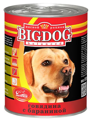 Консервы для собак Зоогурман Big Dog, с говядиной и бараниной, 850 г0492Консервы для собак Зоогурман Big Dog изготовлены из натурального российского мясного сырья. Не содержат сои, искусственных красителей, ароматизаторов, генномодифицированных ингредиентов. Состав серии оптимально сбалансирован, идеально подходит для ежедневного кормления и поддержания иммунитета. Обеспечивает питомца необходимым запасом энергии для активной жизни. - Белки - для развития мышечной системы, - Ненасыщенные жирные кислоты - для здоровой кожи и блестящей шерсти, - Антиоксиданты - для укрепления иммунитета, - Клетчатка - для здорового пищеварения. Зоогурман - гарант качества для домашних животных. Состав: баранина, субпродукты, натуральная желирующая добавка, злаки (не более 2%), соль, вода. В 100 г продукции содержится: протеин 8,0, жир 7,0, углеводы 4,0, клетчатка 1,0, зола 2,0, влага до 80%. Энергетическая ценность: 111кКал. Вес: 850 г. Товар сертифицирован.