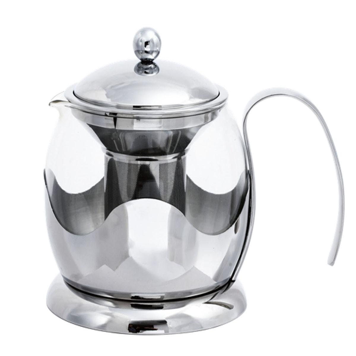 Bohmann чайник заварочный стеклян. BH-9670, 1л, (x12)9670BHСтеклянный заварочный чайник.Емкость 1,0л Фильтр и крышка из высококачественной хромоникелевой стали (18/10). Жаропрочное стекло. Можно мыть в посудомоечной машине. Даёт возможность заварить насыщенный ароматный чай. Лёгкий и быстрый способ насладиться ча