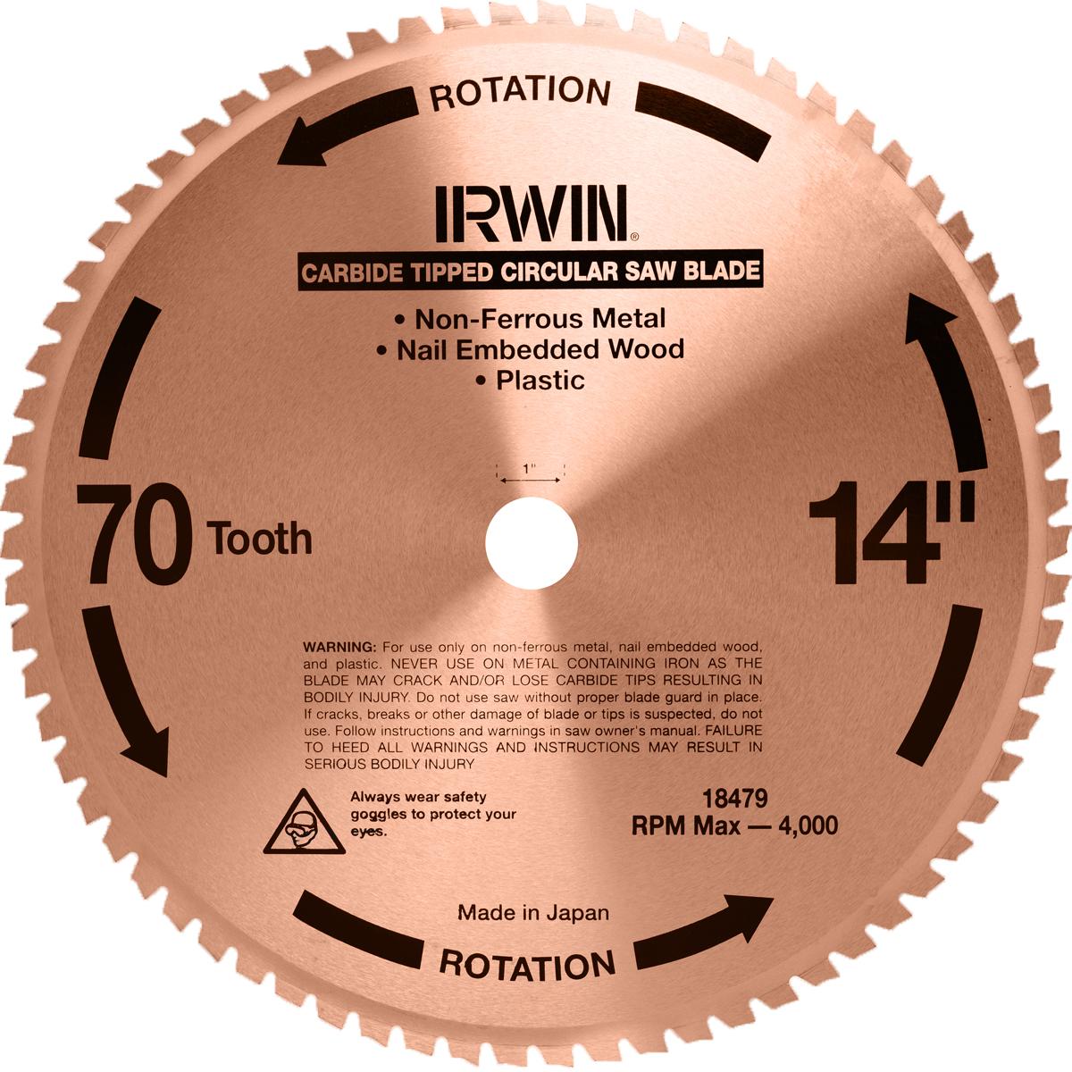 Универсальный пильный диск Irwin, 355 мм10501597