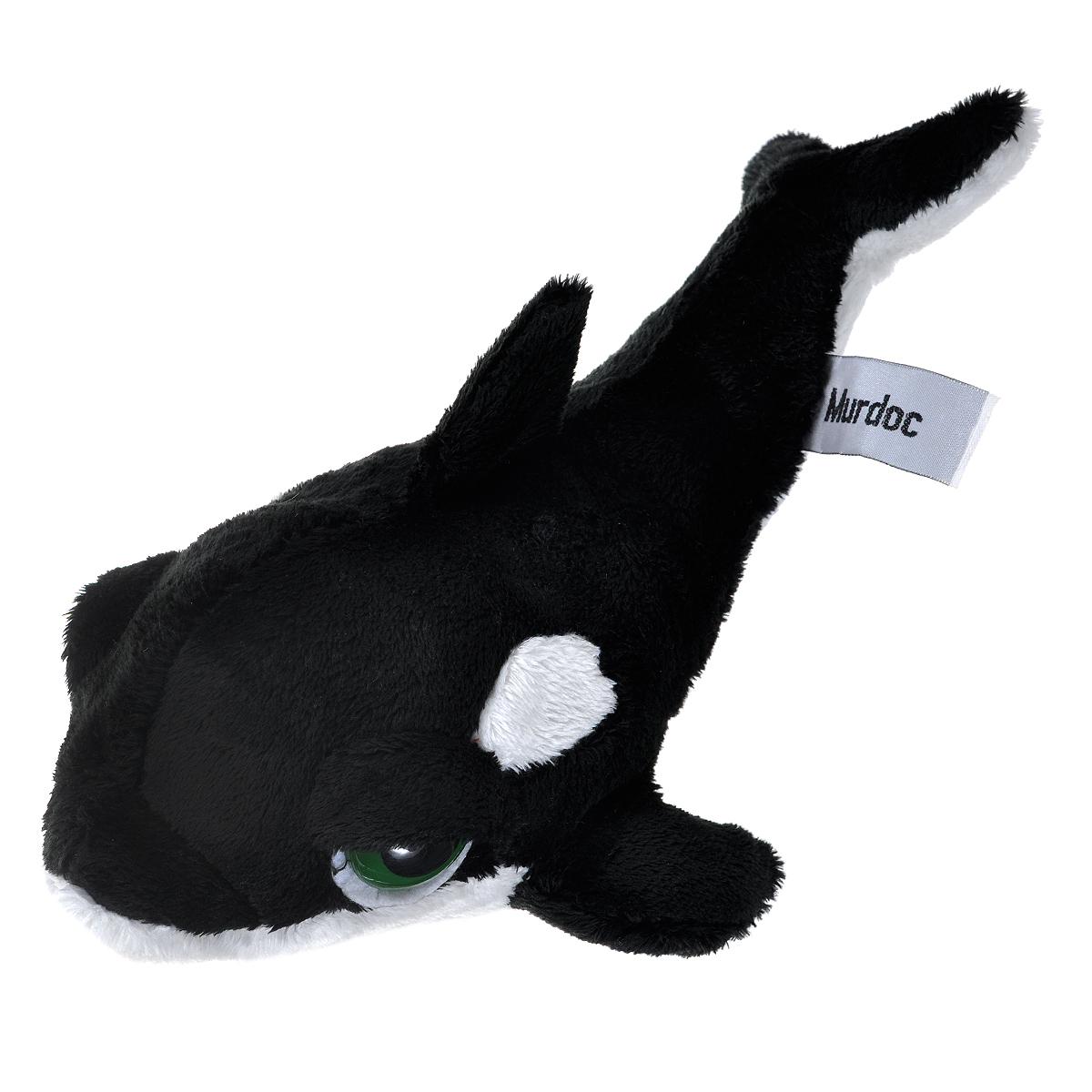 Мягкая игрушка Russ Кит Пиперс, 27 см23090Очаровательная мягкая игрушка Russ Кит Пиперс, выполненная в виде кита черно-белого цвета с большими грустными глазками, вызовет умиление и улыбку у каждого, кто ее увидит. Игрушка изготовлена из высококачественных нетоксичных и гипоаллергенных материалов и наделена индивидуальностью и невероятным шармом. Специальные гранулы, используемые при набивке, способствуют развитию мелкой моторики рук малыша. Удивительно мягкая игрушка принесет радость и подарит своему обладателю мгновения нежных объятий и приятных воспоминаний. Великолепное качество исполнения делают эту игрушку чудесным подарком к любому празднику.