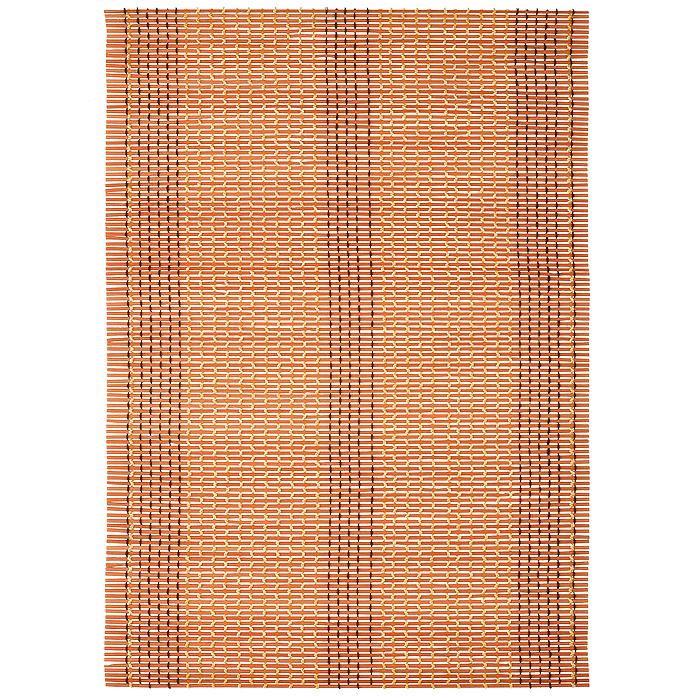 Салфетка для сервировки стола Loks, бамбуковая, цвет: оранжевый, 30 х 45 см P400-116P400-116 - оранжевыйСалфетка для сервировки стола Loks выполнена из бамбуковой соломки, соединенной текстильными нитями. Изделие предназначено для ежедневной защиты поверхностей от загрязнений и повреждений, обладает высокой износоустойчивостью, рассчитано на многократное использование. Легко моется мягкими чистящими средствами. Изысканная бамбуковая салфетка в японском стиле украсит любой интерьер!