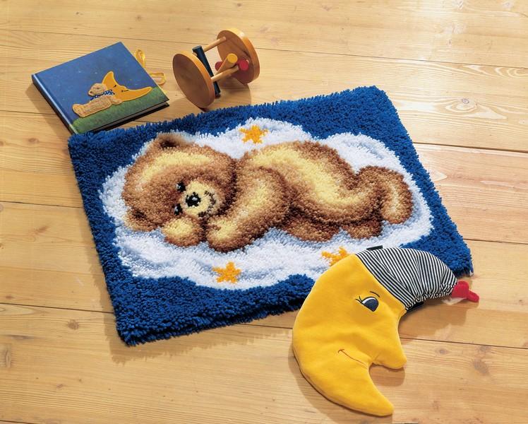 Набор для вышивания коврика Vervaco Мишка, 50 х 40 см647202