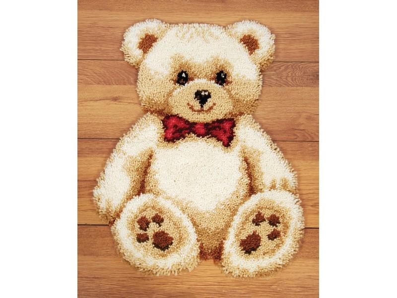 Набор для вышивания коврика Vervaco Бурый медвежонок, 45 х 60 см647205