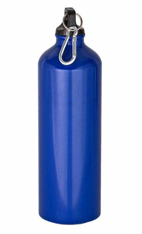 Бутылка для воды CAMPLAND, с карабином, цвет: синий, 0,5 лCAMBOTСпортивная бутылка для воды с карабином. Предназначена для использования во время походов. Отличается прочностью и малым весом, благодаря использованию алюминия. Удобна в транспортировке, так как карабин позволяет пристегнуть флягу к ремню или рюкзаку.