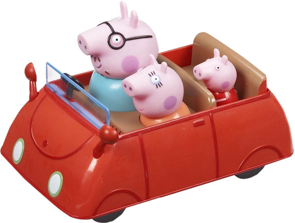 Игрушка Peppa Pig Автомобиль семьи Пеппы15551Мультфильм Свинка Пеппа настолько обожаем малышами, что они ждут каждую его серию с огромным нетерпением. А с машинкой Автомобиль семьи Пеппы можно, не дожидаясь новых приключений героев, создавать их самим! Пеппа со своими родителями отправляется на автомобиле в увлекательное путешествие и познает окружающий мир. Пеппа - это веселая свинка, которая любит играть со своим братиком и друзьями, обожает прыгать по лужам и наряжаться. Игрушка Peppa Pig Машина семьи Пеппы выполнена в виде автомобиля с тремя несъемными фигурками: мамы, папы и Пеппы. Во время сюжетно-ролевой игры у ребенка отрабатываются навыки общения, вырабатываются семейные и общечеловеческие ценности, развиваются кругозор, словарный запас и воображение. И все это сопровождается бурным восторгом от увлекательной игры с любимыми персонажами, которые могут сидеть, стоять, двигать ручками и ножками! Порадуйте своего ребенка таким замечательным подарком!