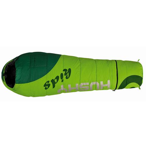 Спальный мешок Husky Husky Kids Magic, левосторонняя молния, цвет: зеленыйУТ-000049091Детский спальный мешок Husky Husky Kids Magic удлиняется на 30 сантиметров за счет специального съемного отделения. Детский спальный мешок навырост. Отстегиваемая нижняя часть может использоваться как дополнительное утепление для ног. Мешок содержит флисовую подкладку внутри капюшона, наружный и внутренний карманы, веселую расцветку, светоотражающие надписи, компрессионный мешок. Очень разумное решение для тех, кто не хочет носить лишний вес и объем и, собственно, покупать два спальника - сначала детский, а потом взрослый. Также это хороший вариант просто для людей небольшого роста.