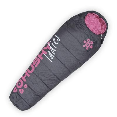 Спальный мешок Husky Ladies, правосторонняя молния, цвет: серый, розовыйУТ-000049103Спальный мешок, созданный для женщин, обеспечивает достаточную тепловую защиту для трех сезонов. Форма приспособлена к женской фигуре, и дополнительно вкладыш для ног для использования в холодную погоду. Зима не захватит вас врасплох. Дополнительная молния, с помощью которой ширина спального мешка может быть легко увеличена на двадцать сантиметров. Компрессионный мешок в комплекте.