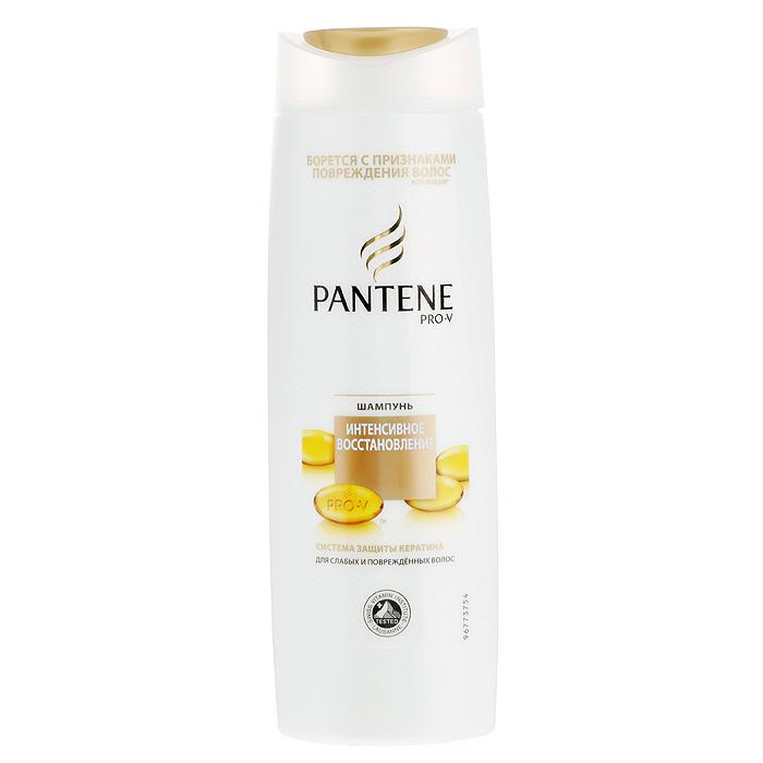 Pantene Pro-V Шампунь Интенсивное восстановление, для слабых и поврежденных волос, 400 млPT-81338377Шампунь Pantene Pro-V Интенсивное восстановление борется с признаками повреждения волос! Совершенная формула Pantene Pro-V с активными частицами ухаживает за волосами, обеспечивая интенсивное восстановление и придавая волосам здоровый вид и блеск. Увлажняет и восстанавливает сухие и поврежденные в результате укладки волосы. Помогает вернуть силу и красоту поврежденным в результате укладки волосам. Предотвращает появление секущихся кончиков. Система защиты с кератином. Для лучшего результата используйте с бальзамом-ополаскивателем и средствами серии Интенсивное восстановление. Концентрация витаминов сертифицирована Швейцарским Институтом Витаминов. Товар сертифицирован.