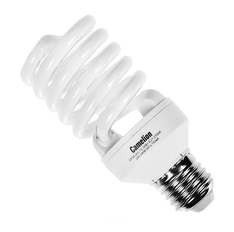 Camelion CF30-AS-T2/827/E27 энергосберегающая лампа, 30ВтCF30-AS-T2/827/E27