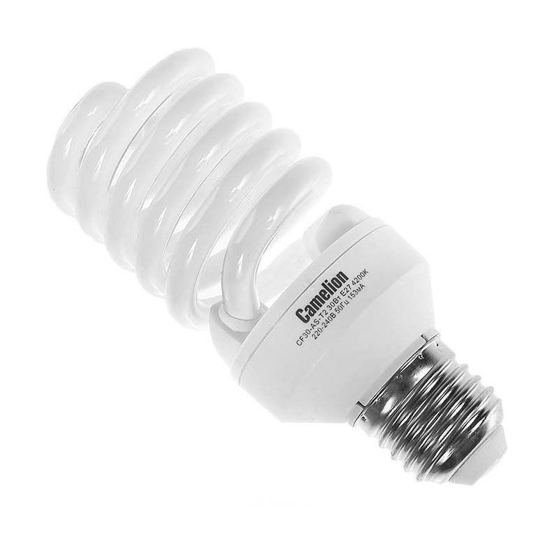 Camelion CF30-AS-T2/842/E27 энергосберегающая лампа, 30ВтCF30-AS-T2/842/E27