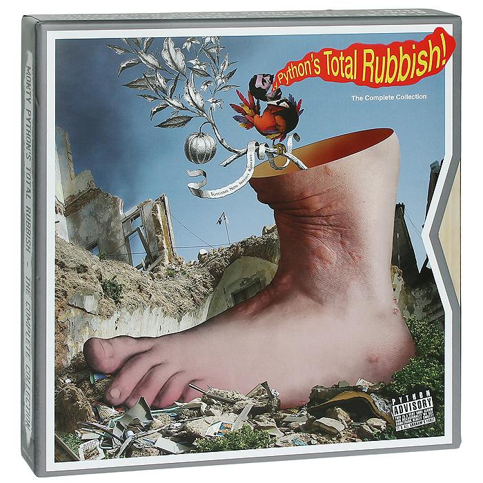 Monty Python. Monty Python's Total Rubbish (9 CD + LP)