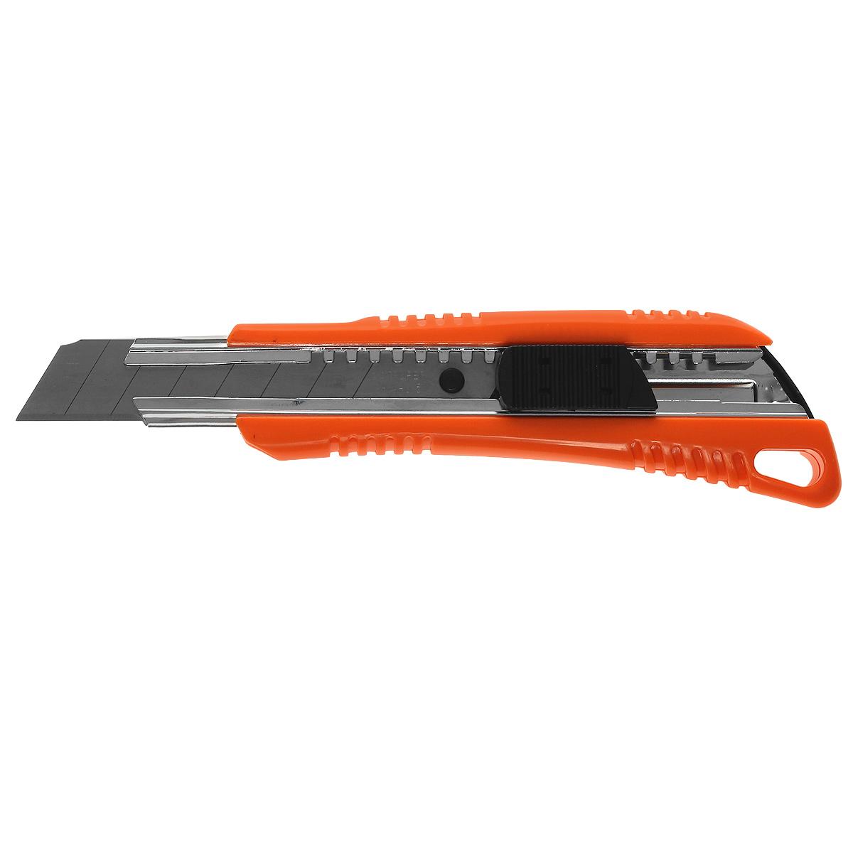 Нож с выдвижным лезвием Truper