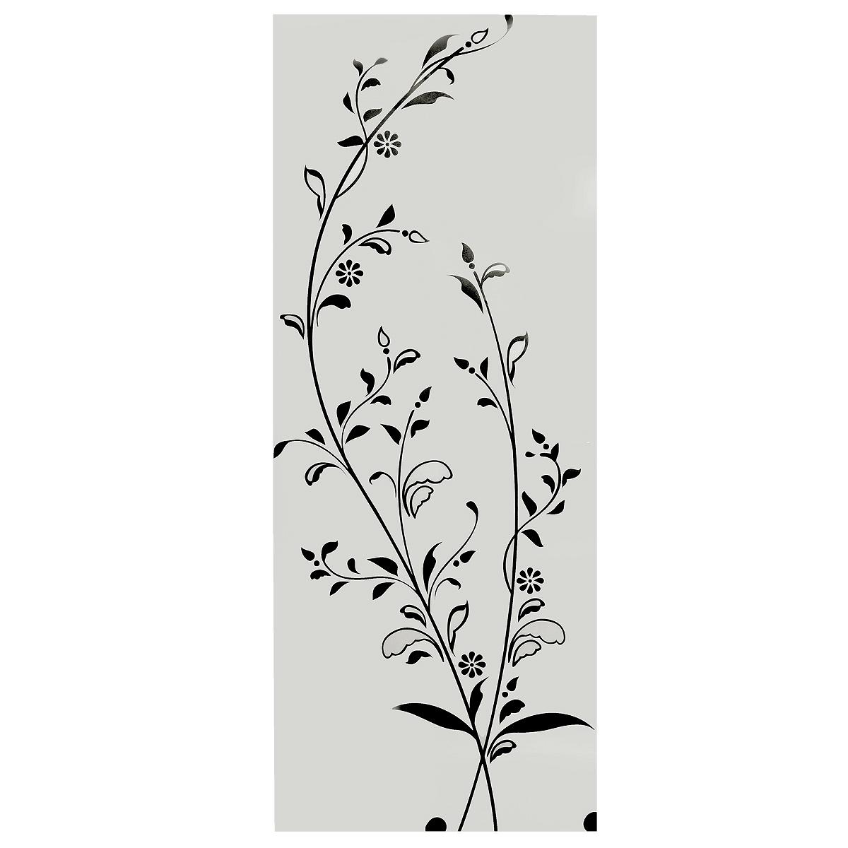 Стикер Paristic Цветущая ветка, цвет: черный, 41 х 105 см33738Оригинальный стикер Paristic Цветущая ветка выполнен из матового винила - тонкого эластичного материала, который хорошо прилегает к любым гладким и чистым поверхностям, легко моется и держится до семи лет, не оставляя следов. Великолепное исполнение добавит изысканности в дизайн вашего дома. Сегодня виниловые наклейки пользуются большой популярностью среди декораторов по всему миру, а на российском рынке товаров для декорирования интерьеров являются новинкой. Необыкновенный всплеск эмоций в дизайнерском решении создаст утонченную и изысканную атмосферу не только спальни, гостиной или детской комнаты, но и даже офиса.