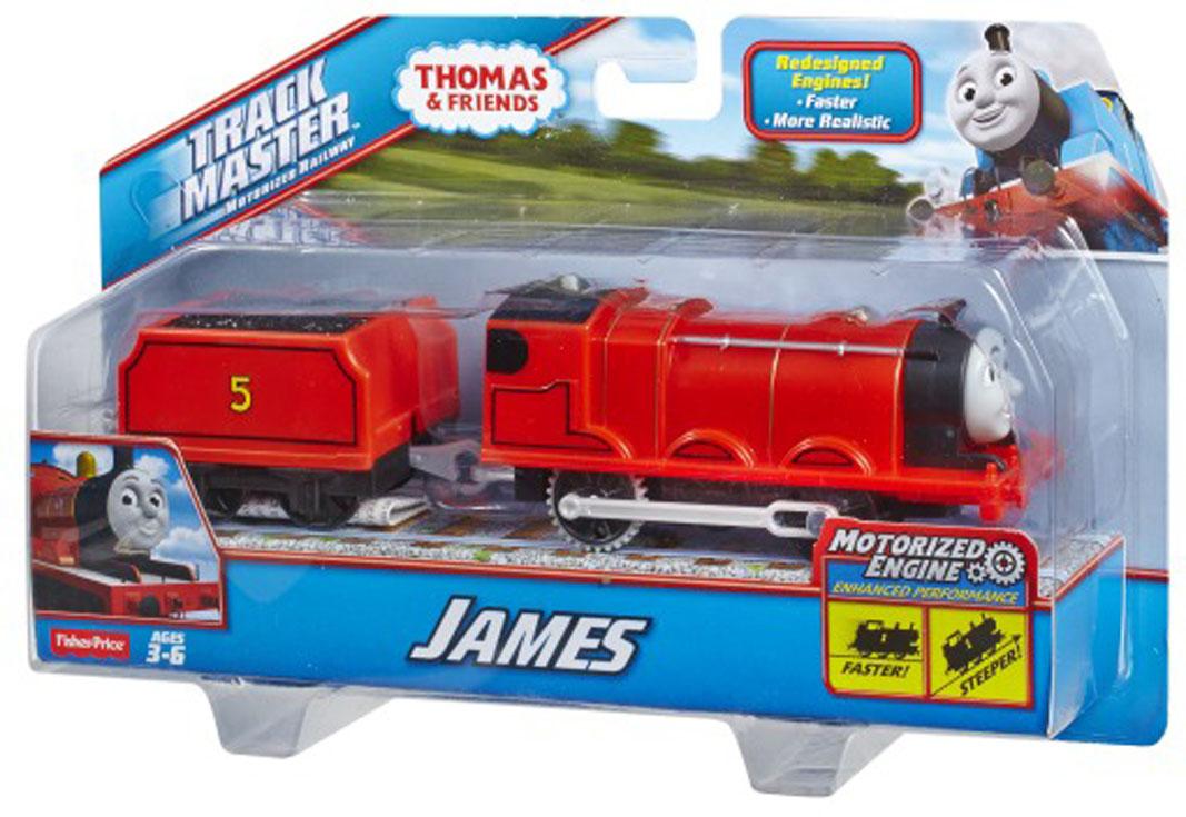 Thomas&Friends Базовый паровозик Джеймс, цвет: красныйBMK87_BML08