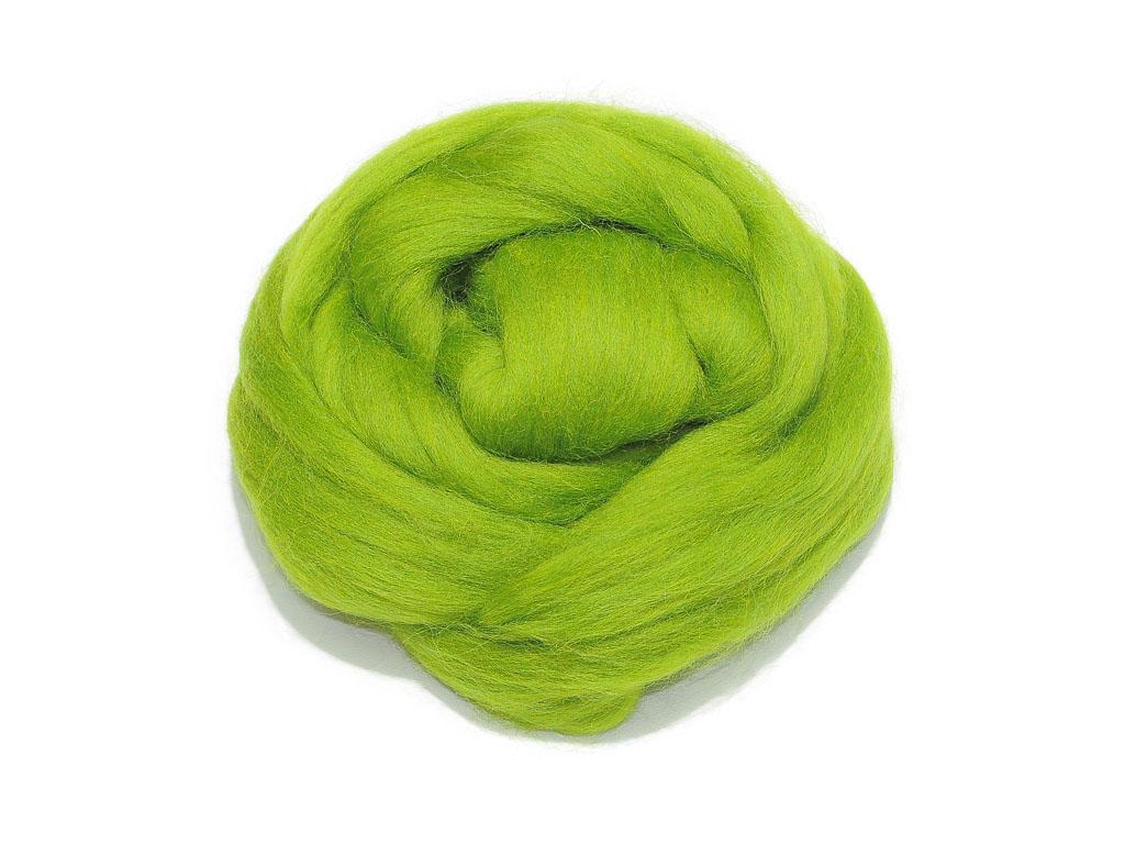 Материал для многоцелевого валяния Richard Wernekinck Wolgroothander, цвет: темно-зеленое яблоко (dunkel apfel) (63766), 50 г510529-63766Материал для многоцелевого валяния Richard Wernekinck Wolgroothander выполнен из натуральной мериносовой шерсти. Шерсть очень качественная, приятна в работе. Подходит и для сухого валяния и для мокрого. Широкая цветовая гамма позволит вам сделать более изысканную, детальную работу. Материал: 100% шерсть мериноса. Вес: 50 г.