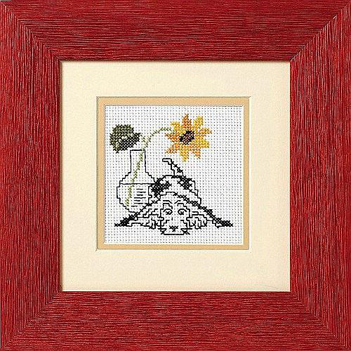 Набор для вышивания Schaefer, счетный крест, с рамкой, 23 см х 23 см. 576-02576-02