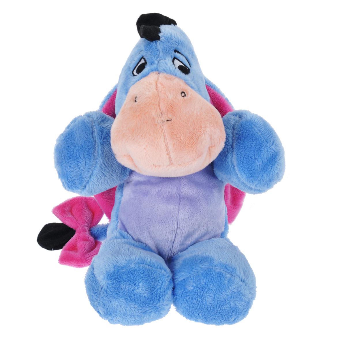 Мягкая игрушка Disney Ушастик, цвет: голубой, 25 см1100817Мягкая игрушка Disney Ушастик станет любимой игрушкой вашего ребенка. Она выполнена в виде ослика Ушастика - героя популярного диснеевского мультсериала о приключениях Винни-Пуха и его друзей. Игрушка удивительно приятна на ощупь. Она изготовлена из мягкого текстильного материала голубого цвета, глазки вышиты нитками. Чудесная мягкая игрушка принесет радость и подарит своему обладателю мгновения нежных объятий и приятных воспоминаний. Компания Disney предъявляет большие требования к качеству продукции: все плюшевые герои соответствуют своим мультяшным прототипам, а самое главное - производятся в соответствии с мировыми стандартами качества и соответствуют российским требованиям безопасности.