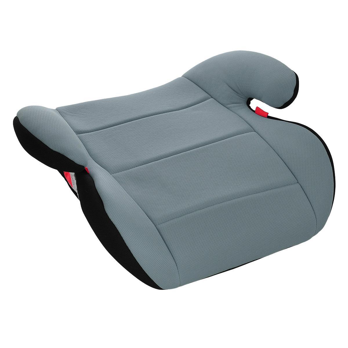 Автокресло-бустер, цвет: серый. YB804A-01YB804A-01Универсальное детское автокресло-бустер представляет собой основание с анатомическим сиденьем, имеющее закругленные формы, которые обеспечивают максимальный комфорт ребенку весом от 15 до 36 килограмм. Кресло соответствует единому европейскому стандарту безопасности для использования в автомобилях и устанавливается почти на всех автомобильных сиденьях. Основные характеристики автокресла-бустера: легко устанавливается и крепится в автомобиле; фиксация ребенка только трехточечным ремнем безопасности автомобиля; высокие подлокотники обеспечивают максимальный комфорт ребенку и дополнительную защиту при боковых столкновениях; чехол легко снимается для стирки. В комплект входит инструкция по эксплуатации бустера на русском языке. Весовая категория ребенка: 15-36 кг.