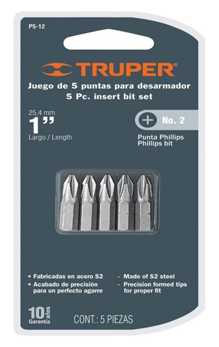����� ��� Truper, PH2 x 25 ��, 5 ��
